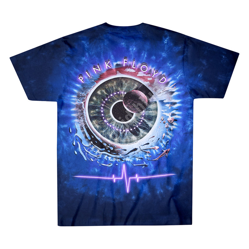 PULSE CONCENTRIC TIE-DYE TEE