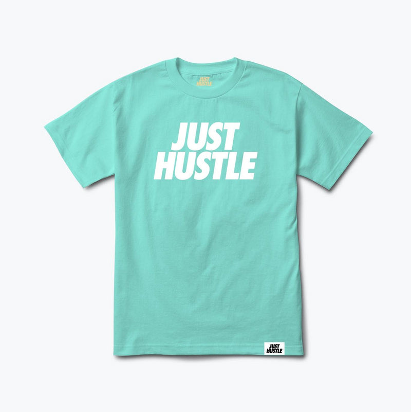 Retro Shade Statement Tee Aqua