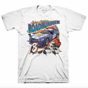 ROAD RUNNER RACER TEE WHITE