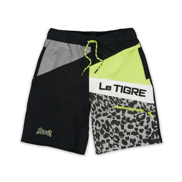 REFLECTIVE SHORTS BLK
