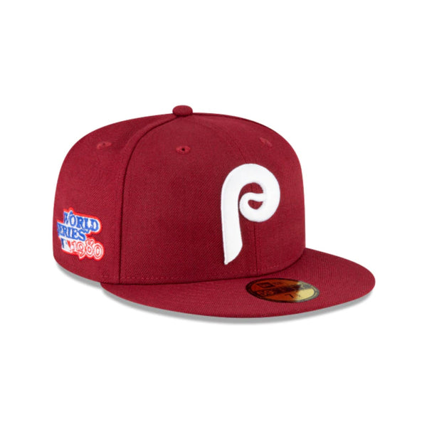 PHILADELPHIA PHILLIES WORLD SERIES SIDE PATCH 59FIFTY FITTED