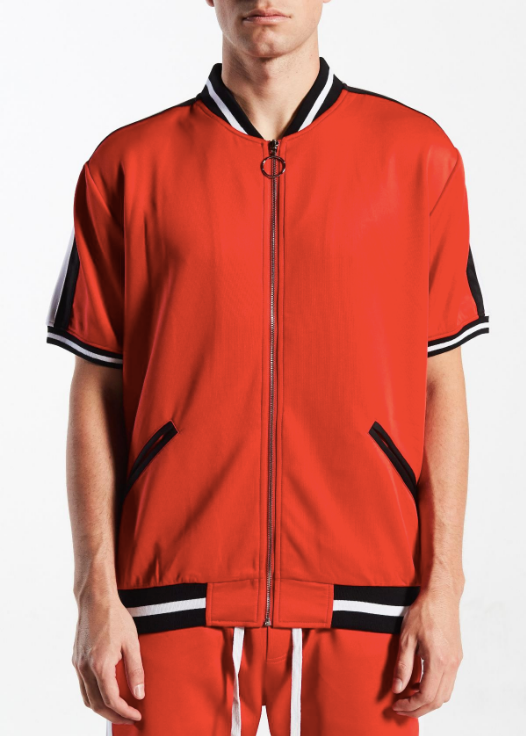 Winston Track Top Red/Wht