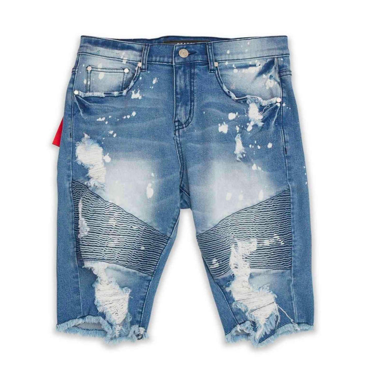 Crawford Denim Shorts Blue