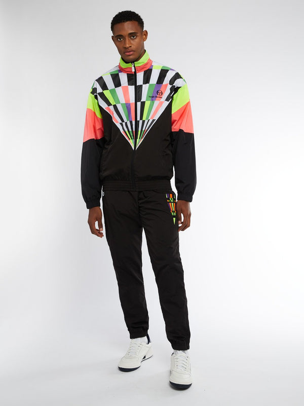 CAMPORESE TRACK SUIT SET - BLK/COR