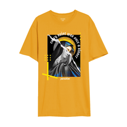 SORROWS TEE MUSTARD
