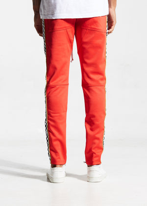 Velocity Track Pant Red