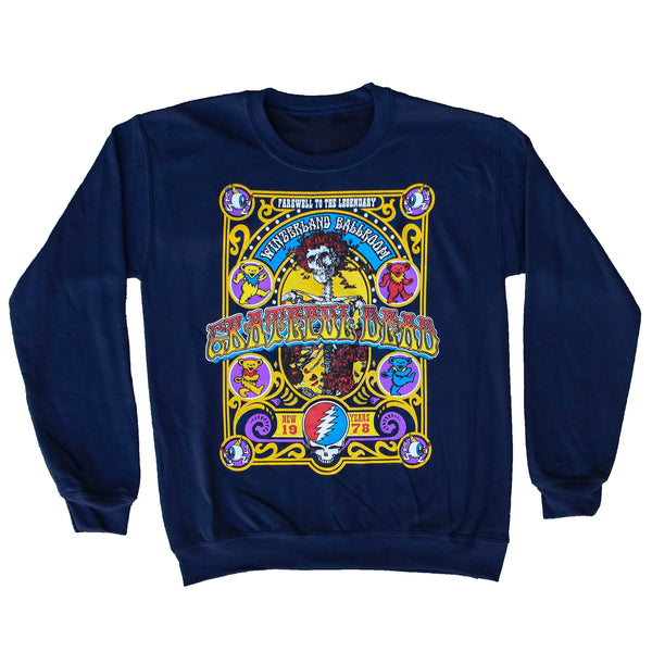 GD CLOSING OF WINTERLAND CREW NECK NVY
