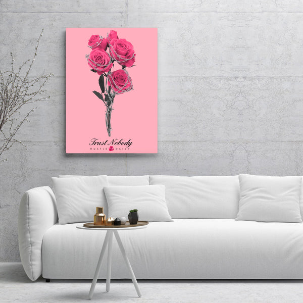 Barbed Rose Canvas