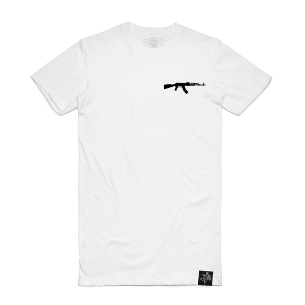 Black AK Logo Pocket Tee