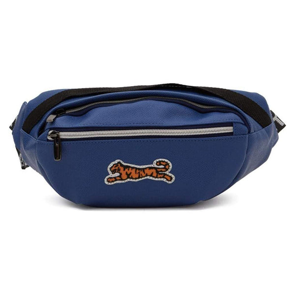LOGO WAIST BAG BLUE
