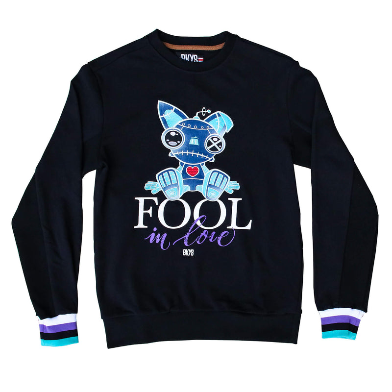 FOOL CREWNECK BLK