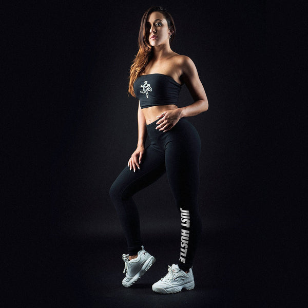 Just Hustle Terry Leggings Light Weight