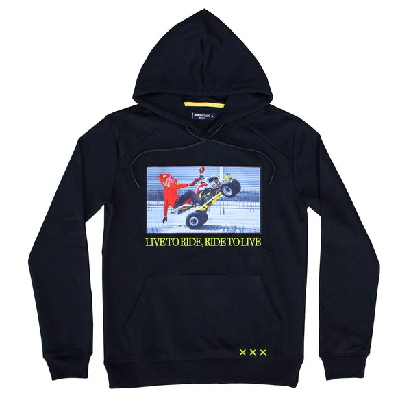 LIVE TO RIDE HOODIE BLK