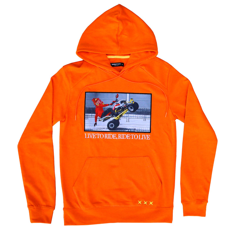 LIVE TO RIDE HOODIE ORG