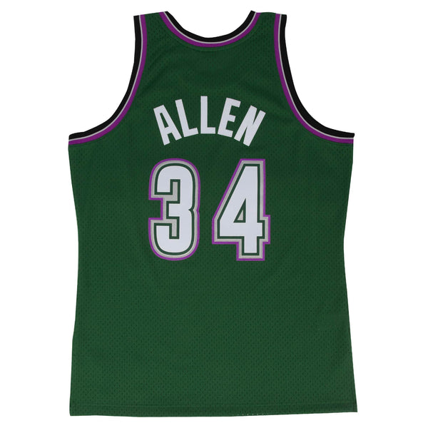 SWINGMAN ALTERNA TE JERSEY BUCKS 96 RAY ALLEN