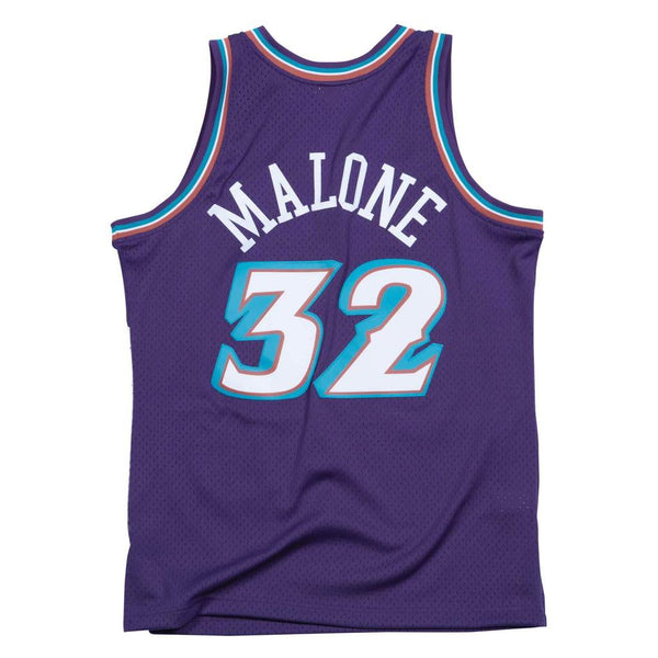 SWINGMAN ROAD JERSEY JAZZ 96 KARL MALONE
