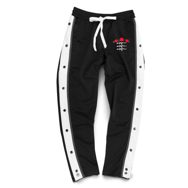 Rose Seal Shoot Around Button Pants