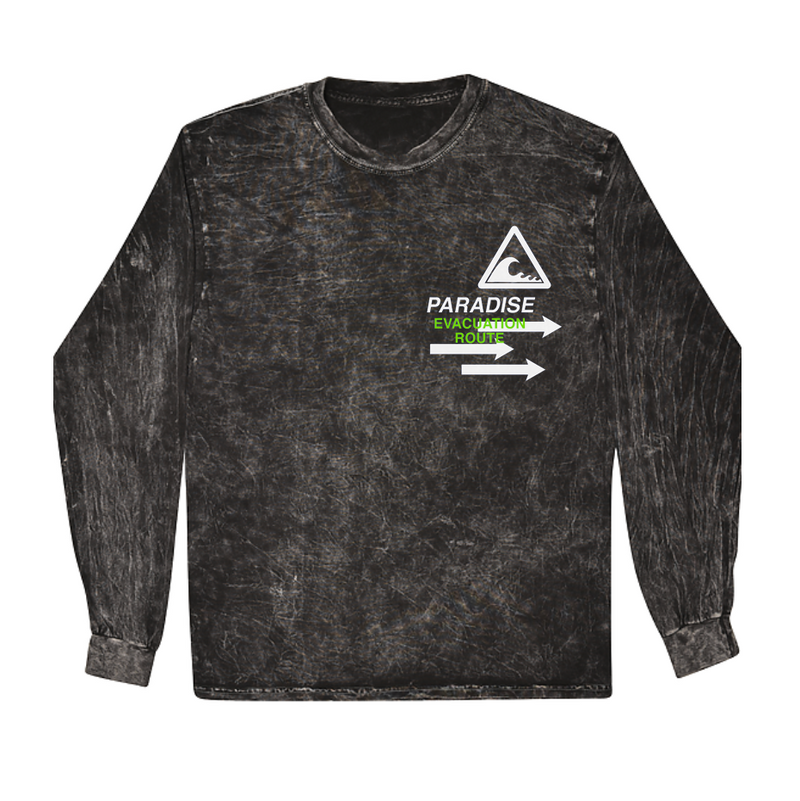 TSUNAMI LONG SLEEVE ACID BLK