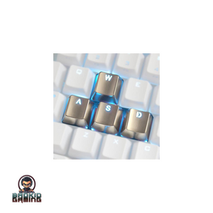 4 WASD Zinc Alloy Keycaps - Bad Kid Sponsored