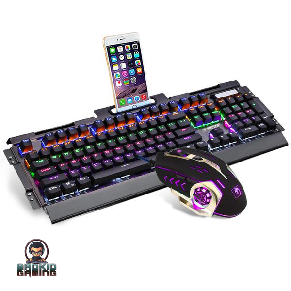 LEVIATHAN Pro Gaming Rainbow Keyboard Combo - Bad Kid Sponsored