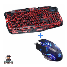 MANTICORE Pro Gaming Multicolored Keyboard Combo - Bad Kid Sponsored
