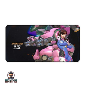 7 D.Va Overwatch Tribute Keyboard Mats - Bad Kid Sponsored