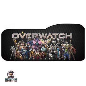 8 Custom Overwatch Characters Keyboard Mat - Bad Kid Sponsored