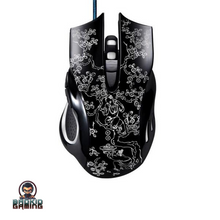 'Ryuk' DEMON Series II. Pro Gaming Ergonomic Mouse - Bad Kid Sponsored
