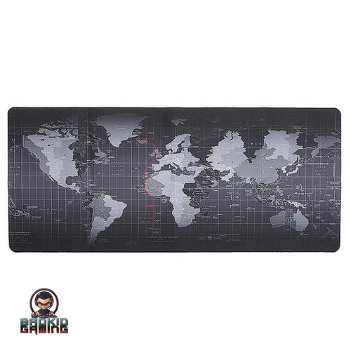 World Map Keyboard Mat - Bad Kid Sponsored