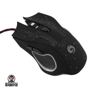 DEMON Series Pro Gaming Ergonomic Mouse Black Rainbow - Bad Kid Sponsored