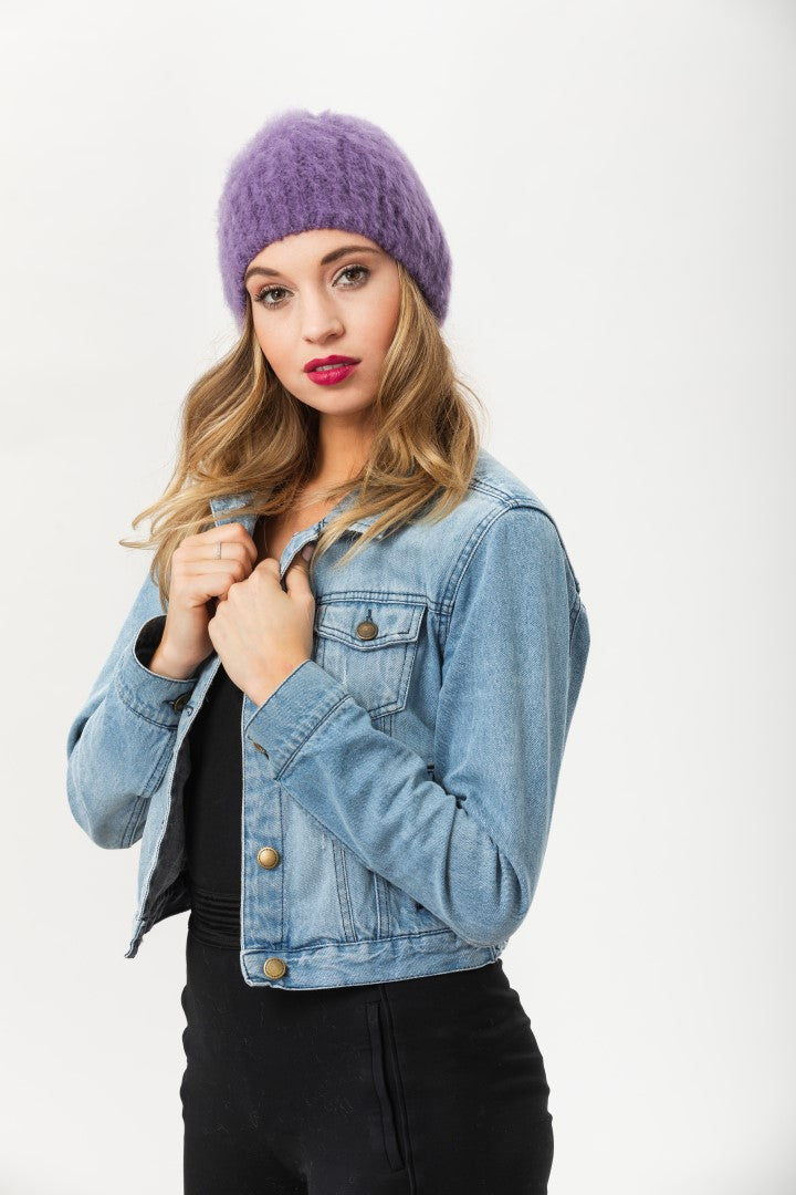 Date Night Beanie - Loganberry
