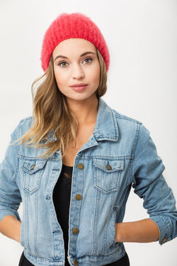 Date Night Beanie - Ribbon Red