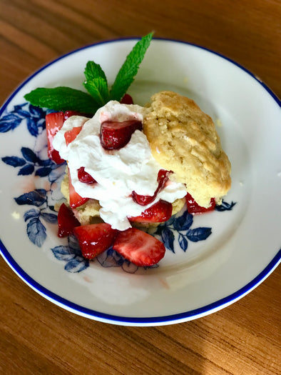 Sweetly Strawberry Shortcake