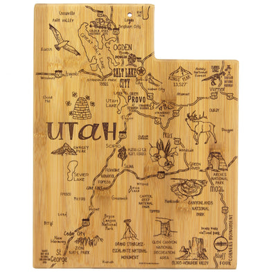 Destination Utah Cutting/Serving Board