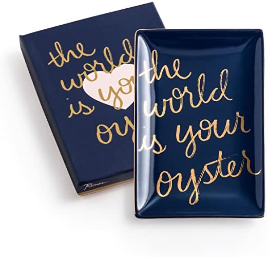 The World is Your Oyster Porcelain Tray