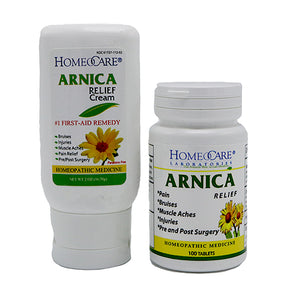 Arnica Relief Tablets & Cream Combo