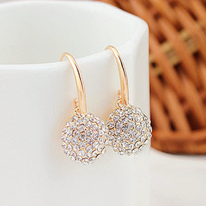 Luxurious Sparkling Zircon Earring