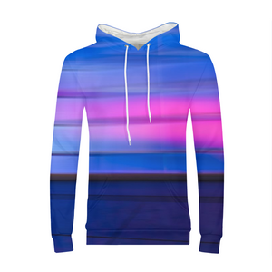Blue And Pink MENS Hoodie