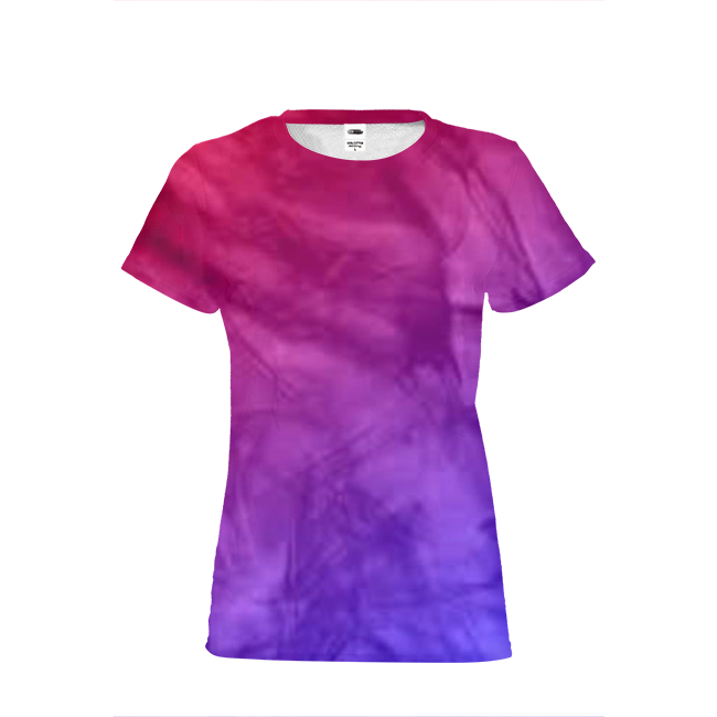 Purple Fade Womens T-Shirt
