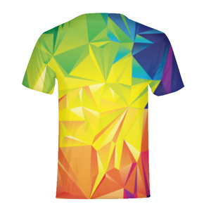 Colorful Triangles T-Shirt