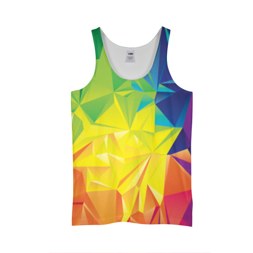 Colorful Triangles Tank Top