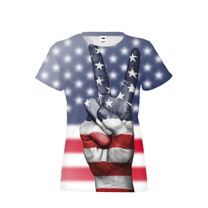 Peace USA Womens T-Shirt