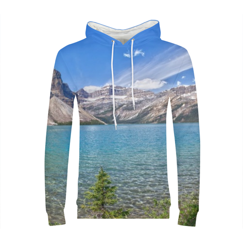 Mountain And Water Mens Hoodie