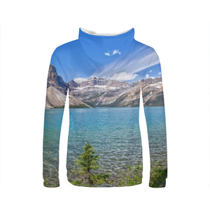 Mountain And Water Womens Hoodie
