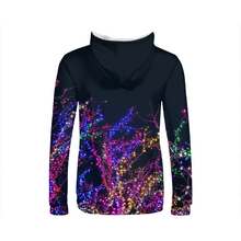 Colorful Lights Womens Hoodie