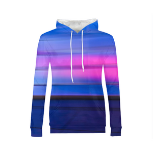 Blue And Pink WOMENS Hoodie