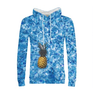 Pineapple Pool Mens Hoodie