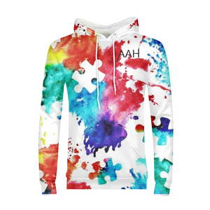 Colorful Autism Awareness Hoodie Mens
