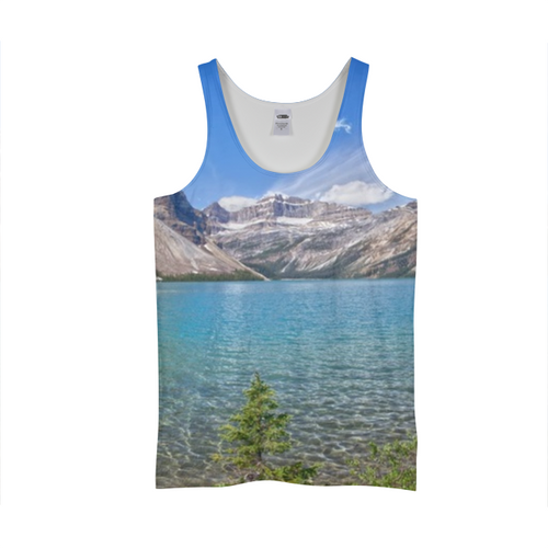 Mountain And Water Tank Top