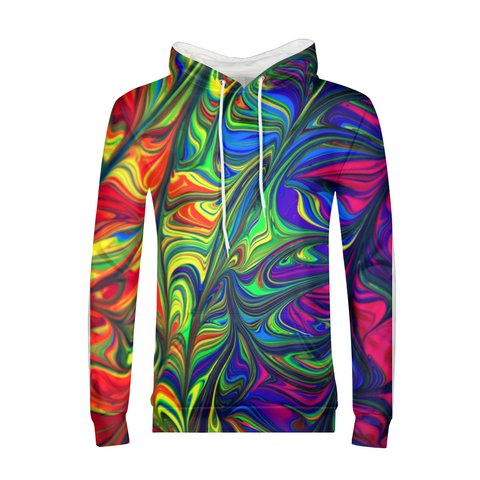 Crazy Colorful Mens Hoodie